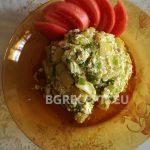 Праз със зелен боб и извара