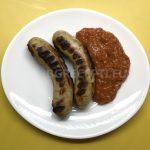 Наденички с къри сос / Къри вурст