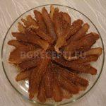 Пастърма от свинско контра филе