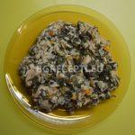 Спанак с ориз и свинско месо в мултикукър