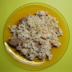 Свинско с ориз в мултикукър