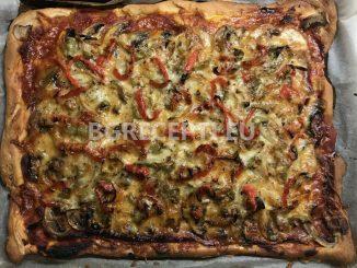 Домашна пица с прошуто кото